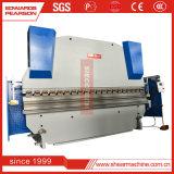 Wc67y 40t lassen China hergestellte Faltblatt-manuelle faltende Maschinen-Hand die Presse-Bremse laufen, die Marchine auf Lager verbiegt