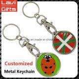 Metallo variopinto su ordinazione Keychain con il marchio