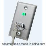 Admission infrarouge d'acier inoxydable aucun bouton de porte de contact de Needto (SB7-Rct)