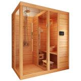 Quarto de madeira da sauna do cedro do uso de 6 pessoas