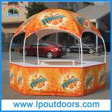 barraca ao ar livre do quiosque da abóbada do hexágono de 3m para a feira profissional
