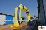 Arco inflable grande de la puerta de la entrada para los deportes o hacer publicidad