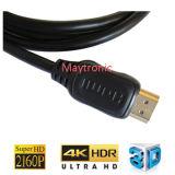 HDMI Kabel, Stütz-Ethernet, 3D, 4k und Audios-Rückkehr-Rückkehr