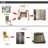 ホテルのための金属の宴会の椅子をスタックする卸売