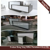 (HX-5N238)チェリーのオフィスのレセプションのカウンター表の木のメラミンオフィス用家具