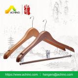 Деревянная Anti-Theft вешалка одежд для гостиницы (AHWMH107)