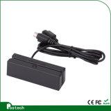 Leitor de cartão da listra magnética do conetor do USB de Hi/Lo-Co RS232 PS2 Ttl