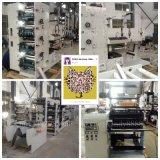 Ybs-320g de etiquetas de impresión flexográfica de prensa con tres troquelado estación