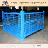 Lager-industrieller faltbarer Speicher-Stahlmaschendraht-gestapelter Gestell-Rahmen