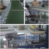 Chaîne de production automatique de l'eau de cuvette