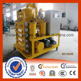 Macchina di filtrazione dell'olio del trasformatore dello spreco di vuoto di Zhongneng