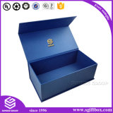 Коробка подарка роскошного магнитного картона закрытия упаковывая бумажная
