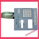 Touche à effleurement graphique de connecteur de Keyswitch de recouvrement de claviers numériques à télécommande