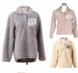 Monogrammed пуловер Sherpa ватки (10121)