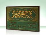 イスラム教の祈りのクロックのためのAzanの目覚し時計を話すイスラム教またはモスクLEDのアッセンブリ