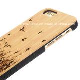 Оптовой продажи изготовления случая телефона Китая iPhone аргументы за телефона деревянной деревянное 6 6s с низкой ценой