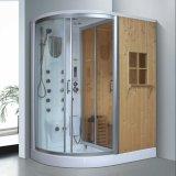 Sauna de combinación de vapor de gemelos con ducha (AT-D8852)