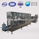 150bph automático finalmente procesado lavadora de relleno del agua de 5 galones