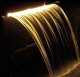 屋外および屋内装飾的なプールの滝