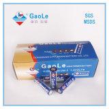 Bateria da pilha seca do AA R6p 1.5V na embalagem da caixa (UM-3)