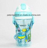 370ml食品等級のかわいいプラスチック漫画は水差し、多彩な水差しをからかう