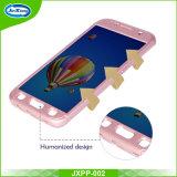 360 da tampa cheia do PC graus ultra finos da caixa para o cristal da galáxia S7 de Samsung - caso desobstruído do telefone