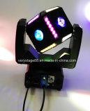Lumière principale mobile du football de 6X12W le plus neuf RGBW 4in1 DEL