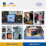 Складывая пластичного вагонетка пакета и магазинной тележкаи крена