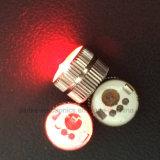 En forma de corazón LED parpadeante luz del cuerpo botones (3569)