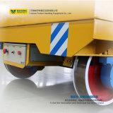Industria de metal usar el carro del transportador del carril con el sistema de elevación hidráulico