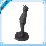 Custom Large Size Bronze Escultura Cold Cast Resin Statue Ornament Decor Gift