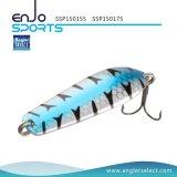 Il pescatore seleziona il richiamo d'affondamento dell'attrezzatura di pesca del filatore di 5.5cm con Vmc gli ami tripli (SSP150155)
