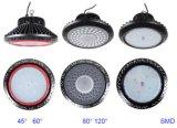 2017 100W150W200W240W indicatore luminoso industriale della baia del UFO LED dell'alto di lumen IP65 magazzino della fabbrica alto