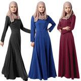 Donne musulmane che coprono gli abiti semplici Abaya di ultimo disegno