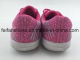 Usine de chaussures occasionnelles en gros de chaussures de toile d'enfants (FFHH-092605)