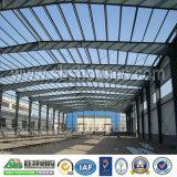 Kombinierte Stahlkonstruktion als Werkstatt, Lager, Büro