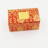 Caixa de jóia Eco-Friendly de veludo da qualidade superior para o anel (J10-A)