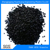 Boulettes durcies superbes du nylon PA66-GF25 pour la matière première