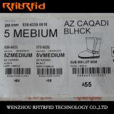 Вся алюминиевая бирка одежды RFID вытравливания RFID