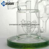 Tubo de cristal del percolador del tubo de agua que fuma (AY003)