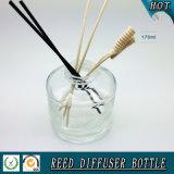 бутылка отражетеля круглой ароматности цилиндра 150ml стеклянная камышовая