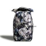 シンプルな設計の女性調節可能な肩ベルトが付いている携帯用花模様の週末旅行袋の荷物袋