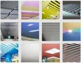 Techo decorativo de interior de aluminio colorido con precio de fábrica