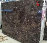 Слябы мрамора цены Китая Emperador темные дешевые для строительного материала