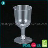 Vidrio de vino plástico duro