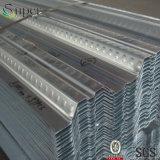 Piastrina di appoggio e piattaforma di pavimento d'acciaio galvanizzate ondulate