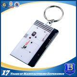 エポキシの金属Keychainとのアルミニウムフルカラーの印刷