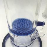 Panal de cristal Perc de los tubos de agua del tubo que fuma con el tazón de fuente