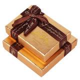 선전용 서류상 음식 또는 사탕 또는 초콜렛 상자
