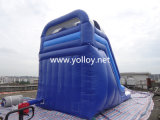 Corrediça de salto inflável, jogo inflável comercial dos esportes